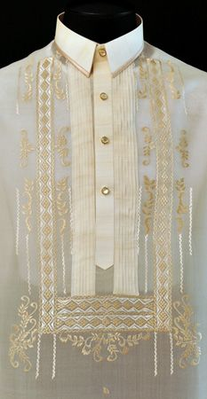 Custom Barong Tagalog Customize this barong according to your measurements and specifications. Barong Wedding, Wedding Attire, Wedding Dresses, Philippines Outfit, Philippines Tattoo, Barong Tagalog, Filipino Wedding, Filipino Fashion, Filipino Tribal Tattoos