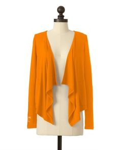 The University of Tennessee Two Pocket Cardigan in Tennessee Orange