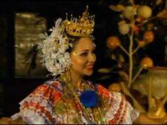 Festival Nacional de la Mejorana en Guararé 'Baile de la mejorana'.