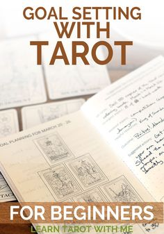 Learn how to use the tarot for goal-setting and planning. This 6-card tarot spread will help you plan and accomplish your goals. From Learn Tarot With Me.