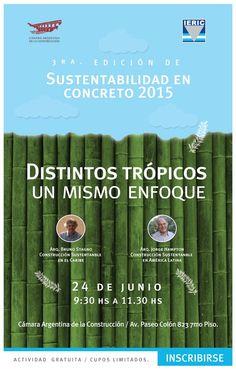 3ª Sustentabilidad en Concreto – 24 de junio a las 9:30 hs.