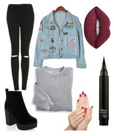 """""""Untitled #5"""" by idil-yoruk on Polyvore featuring Topshop, Blair, Chicnova Fashion, New Look and Lime Crime"""