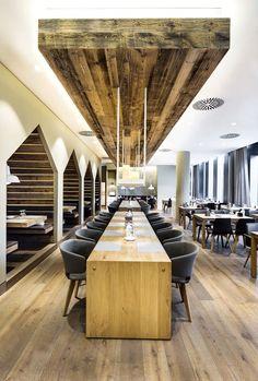 Sansibar by Breuninger restaurant in Düsseldorf by Dittel Architekten Restaurant Design, Decoration Restaurant, Deco Restaurant, Pub Design, Restaurant Concept, Deco Design, House Design, Bar Interior, Interior And Exterior