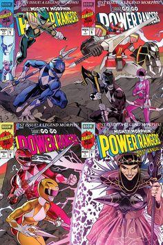 Jim Lee inspired comic covers/Boom! Studios