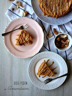 basta cheio: Bolo-Pudim de Amendoim