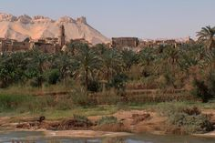El Dakhla Oasis. It was the capital of the Oasis region during the Pharaonic period.Today, El Dakhla is one of the most wonderful place in Egypt with many remarkable monuments, natural scenery. #Egypt #Travel #Tourism #Oasis