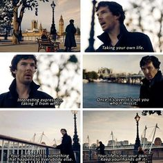 This really hit me hard. And it sounds as if Sherlock is speaking from experience.