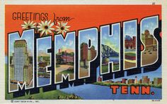 Simply thinking about Memphis makes me happy. So many wonderful childhood memories shared with family.