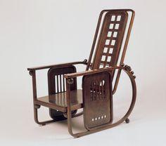 Adjustable Armchair, Josef Hoffman, 1904-