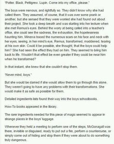 How the Marauders became Animagius part 2