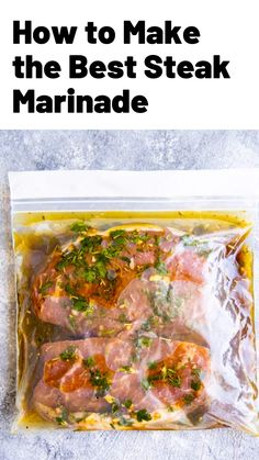 Beef Recipes For Dinner, Steak Recipes, Grilling Recipes, Chicken Recipes, Cooking Recipes, Healthy Recipes, Beef Dishes, Food Dishes, Steak Marinade Best
