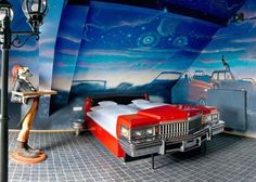 Win big with these amazing themed hotel rooms on your next family vacation.
