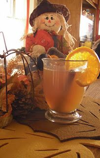hot mulled cider - perfect