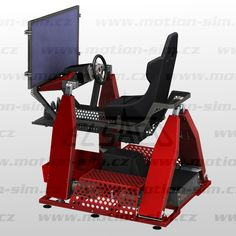 4DOF Extreme 4x4 / 3D TV racing simulator