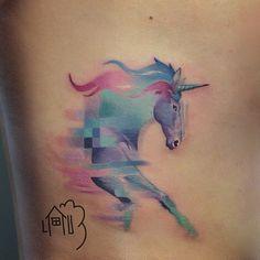 japanese watercolours unicorns - Google Search
