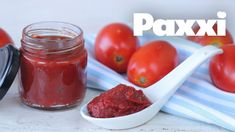 Πως να φτιάξεις σπιτικό πελτέ ντομάτας - Paxxi (Ε201) Fruit Preserves, Food Hacks, Food Tips, Tomato Paste, Jelly, Salsa, Dips, Recipies, Pudding