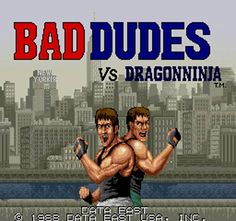 Bad Dudes vs. Dragon Ninja (Arcade)