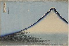 "Katsushika Hokusai (葛飾 北斎) (1760–1849)""South Wind, Clear Dawn"" circa 1830-1"