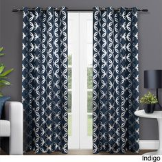 ATI Home Modo Grommet Top 84-inch Curtain Panel Pair