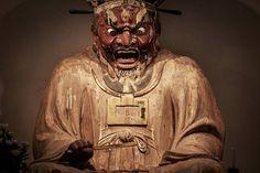 円応寺 北鎌倉 建長寺から近くひっそりとしたお寺です。ご本尊の閻魔大王坐像の迫力は一見の価値あり!