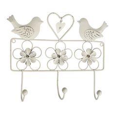 White Bird & Daisy Wall Hanger by Home Treats from Rex on #zulilyUK today!