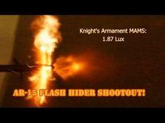 AR-15 Flash Hider Shootout - The Truth About Guns