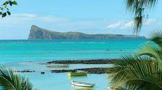 Günstig ins Paradies! Mauritius lockt mit traumhaft schönen, weißen und feinen Sandstränden, mit Korallensand und kristallklarem blauen bis türkisgrünem Lagunenwasser. #mauritius #lastminute #urlaub #strand #paradies