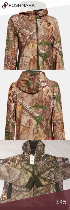 f0afa0128 Under Armour Sweatshirts Womems XXL Realtree Camo Under Armour Sweatshirts  Women s XXL Realtree Camo Hooded Sweatshirt