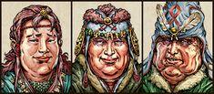 Interactive Stories, Image C, Dragon, King, Dragons