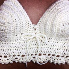 Crochet crop top handmade by me check out my Instagram Kyricreates