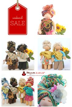 Memorial Day Sale is ON until Monday at midnight! Don't miss out! Use code weekendsale for 20%OFF any doll at the shop.