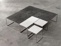 Stone coffee tables | Joan Lao | Alternative | Mobilfresno Group