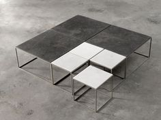 Stone coffee tables | Joan Lao | Alternative | Mobilfresno Group