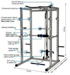 Classic Power Rack Measurements