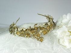 Halo & Co tiara  Vintage collection  by GisellePascalCouture