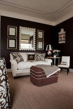 Fresh and modern living room decor