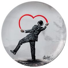 Buy Royal Doulton Street Art Nick Walker Love Vandal Plate Online at johnlewis.com