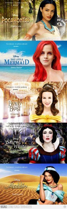 Celebrities - Disney Princess