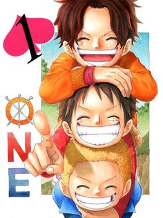 92 Best Ace Sabo Luffy Images Manga Anime Monkey D Luffy Ace