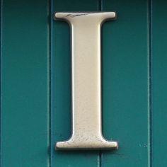 letter I, via Flickr.