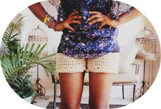 Crochet Shorts Pattern and Tutorial