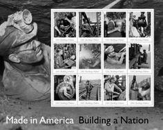 Mark your calendars! The Made In America: Building a Nation stamps will be released in August 2013. Details to come.