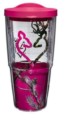 Tervis Tumbler Browning Insulated Wrap with Lid - Heart
