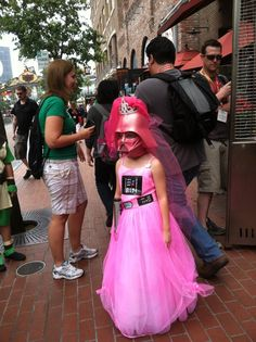 Princess Vader:  Disney Princesses meet Star Wars  (San Diego Comic-Con Cosplay) #sdcc