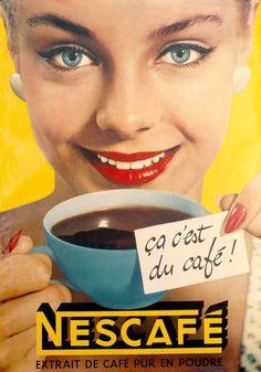 Nestle Nescafe Poster