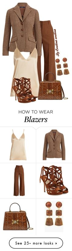 """EVE"" by evelina-er on Polyvore featuring Chloé, Polo Ralph Lauren, Raey, Gucci, Paul Andrew and Chico's"