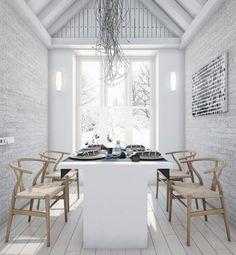 Loft Style Country House by Angelina Alexeeva. | Archifan Blog