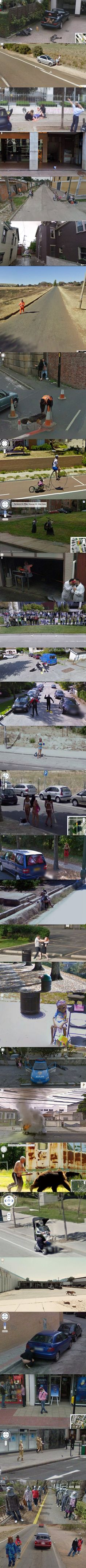 Weird Stuff on Google Street View