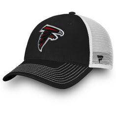 79b6e3e479ef1 Youth Atlanta Falcons NFL Pro Line by Fanatics Branded Black Core Trucker Adjustable  Hat