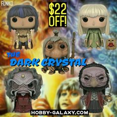 Pre-Order at Hobby-Galaxy.com!  #thedarkcrystal #darkcrystal #funko #funkovinyl #funkopop #funkofunatic #funkopops #funkocollector #funkocollection